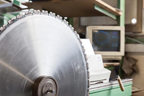 Produktion von Diamant-Sägeblätter